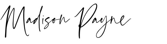 Madison Payne Signature