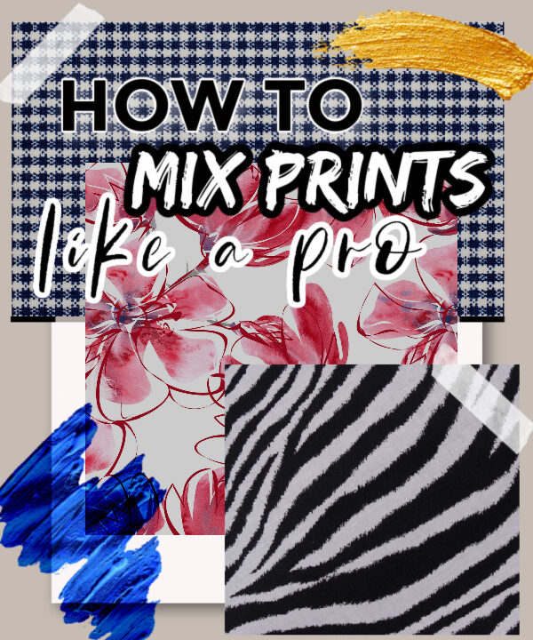 how to mix fashion prints and patterns