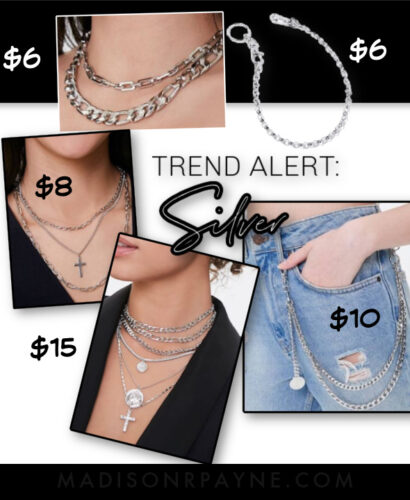 silver trend for fall