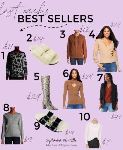 best sellers-09-12-20