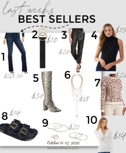 best sellers 10-17-20
